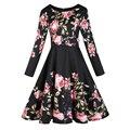 Vestidos novo 2017 verão mulheres dress vestido de festa robe femme o-pescoço vestidos de festa patchwork vintage casual dress