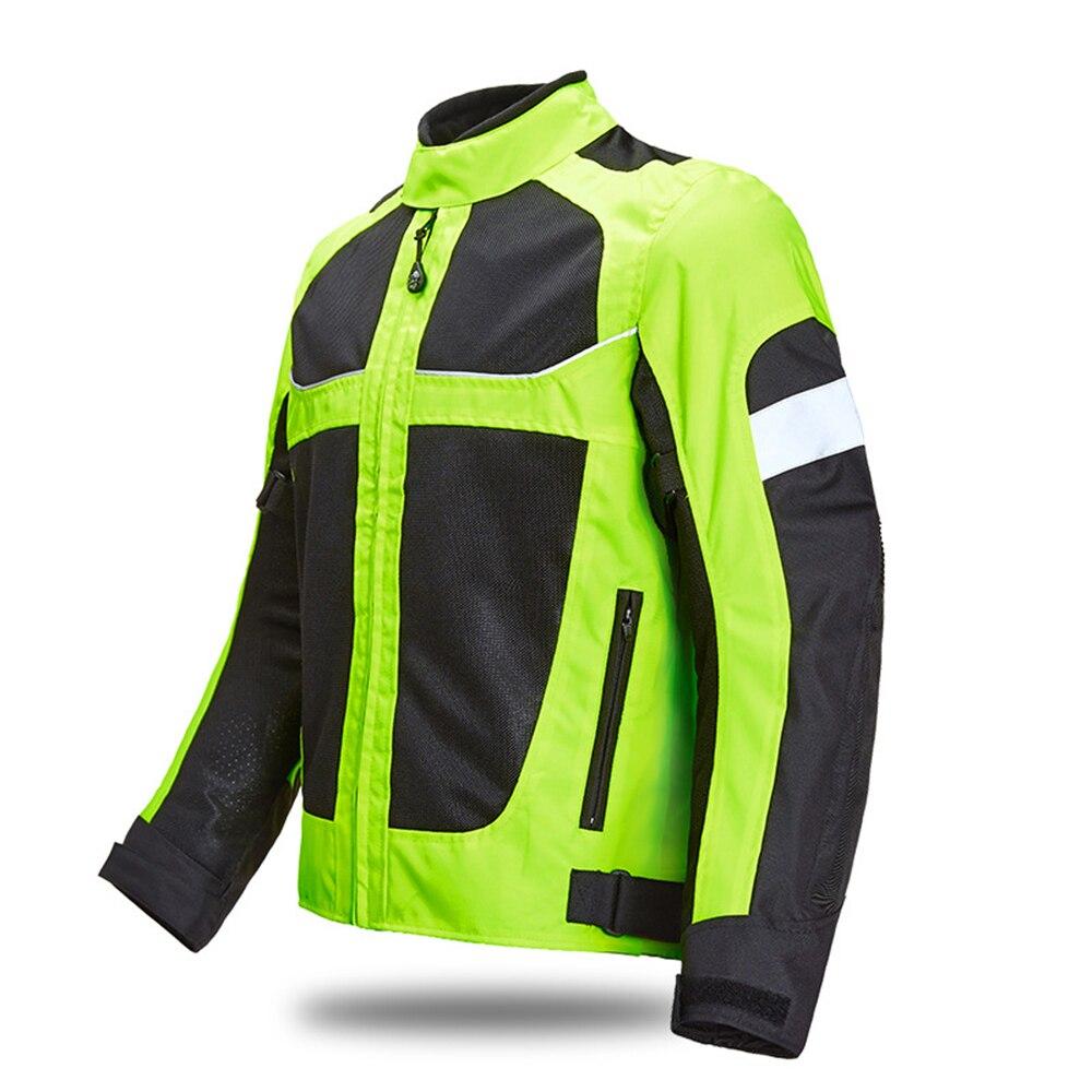 Veste de Moto LYSCHY veste d'équitation de Moto veste respirante pour Moto Moto Cross vêtements de Moto d'été - 2