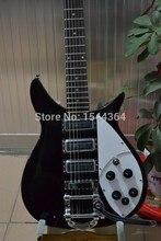 Großhandel Schwarz MIT bigsby HHH pickups e-gitarre Verschiffen kostenlos! tun OEM service