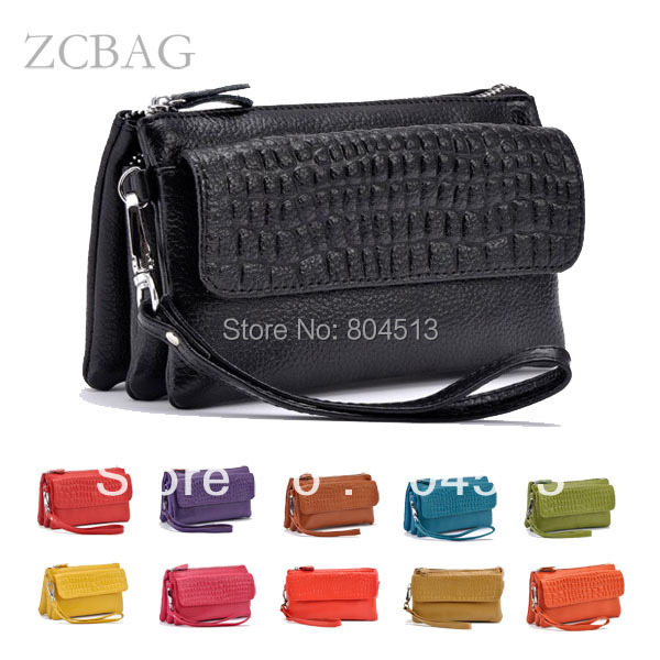 2018 New Designer Female Real Genuine Leather Women Wallet Cosmetic Mobile Phone Ladies Clutch Bag Coin Holder Purse Credit Card yuanyu 2018 new hot free shipping female import real python leather women clutches long fashion snake leather bag women wallet