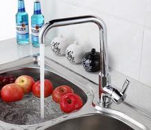 Латунь медь вытащить спрей кран кухни смеситель, Вытащить распылитель кухня кран никель сатинировки матовый латуни материал XKX5008