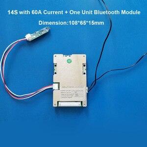 Image 5 - 14 วินาที 58.8 โวลต์ Li ion สมาร์ทบลูทูธ BMS APP ซอฟต์แวร์การจัดการสำหรับสกู๊ตเตอร์ไฟฟ้าจักรยานแบตเตอรี่ lipo กับ 20A to 60A