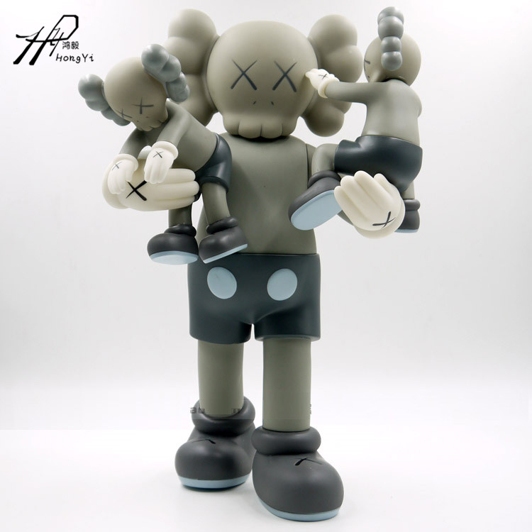 40 cm KAWS Original Fake Plastic Action Figures New 2016 Kids Toys Gifts Baby Clean Slate Brinquedos with box fashion toys new kaws original fake joe kaws dog medicom toy gift for boyfriend kaws original fake