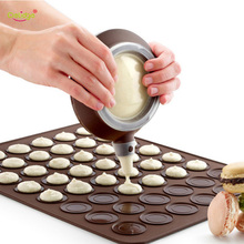 Delidge 7pc Cake Decorating Tools Set Nozzle Pot + Cream Tube+ Pastry Baking Mat Tool For Silicone Diy Macaron Mold