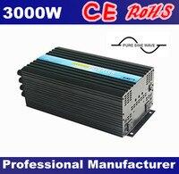 Чистая синусоида солнечный Мощность Инвертор 24 В 220 В 3000 Вт инверторы