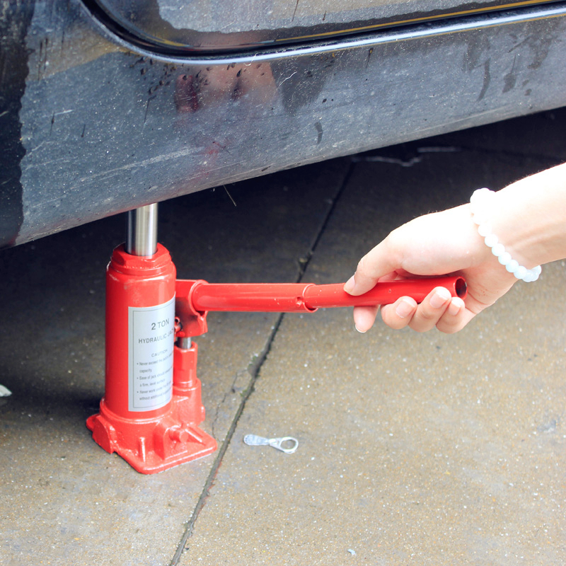 Autoleader Portable Steel 5 Ton Car Hydraulic Jack Hand Repair Tools Replacement Vertical Jack Hydraulic Bottle Lifting Jack