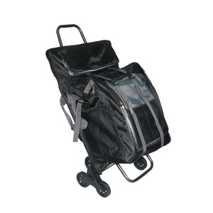 Image 1 - Multifunctional Folding Sketch Cart Painting Trolley Thickening Canvas Shoulders Bag Oil Drawing Chair Painting Supplies Art kit