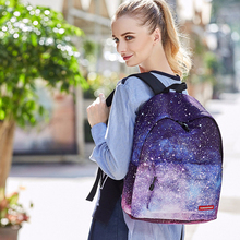 Multicolor Backpack Stylish Galaxy Bookbags Star Universe Space School Bags For Teenager Harajuku Women Rucksack 2018 Laptop New