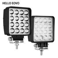 HALLO EOVO 4 stücke 4 Inch 48W LED Arbeit Licht für Indikatoren Motorrad Fahren Offroad Traktor Lkw 4x4 SUV ATV 12V 24V