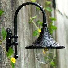 Loudspeaker wall lamp LED waterproof  IP44 E27 Base garden door head courtyard lamp outdoor