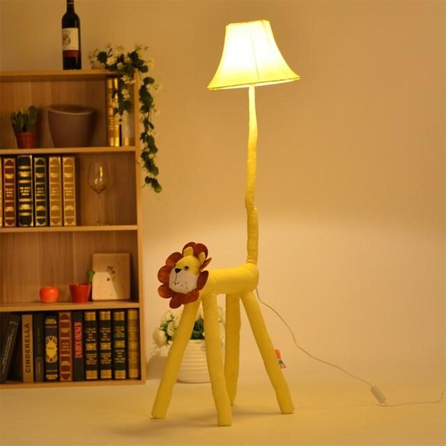 Aap cartoon floor lights moderne staande lamp mooie pastorale stijl ...