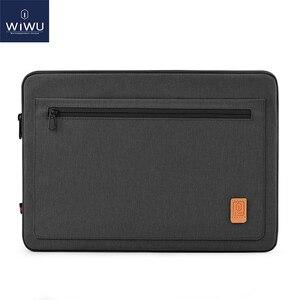 Image 1 - WIWU Laptop Bag Case 13.3 14.1 15.4 16 Waterproof Notebook Bag for MacBook Air 13 Case Laptop Sleeve for MacBook Pro 13 16 2019