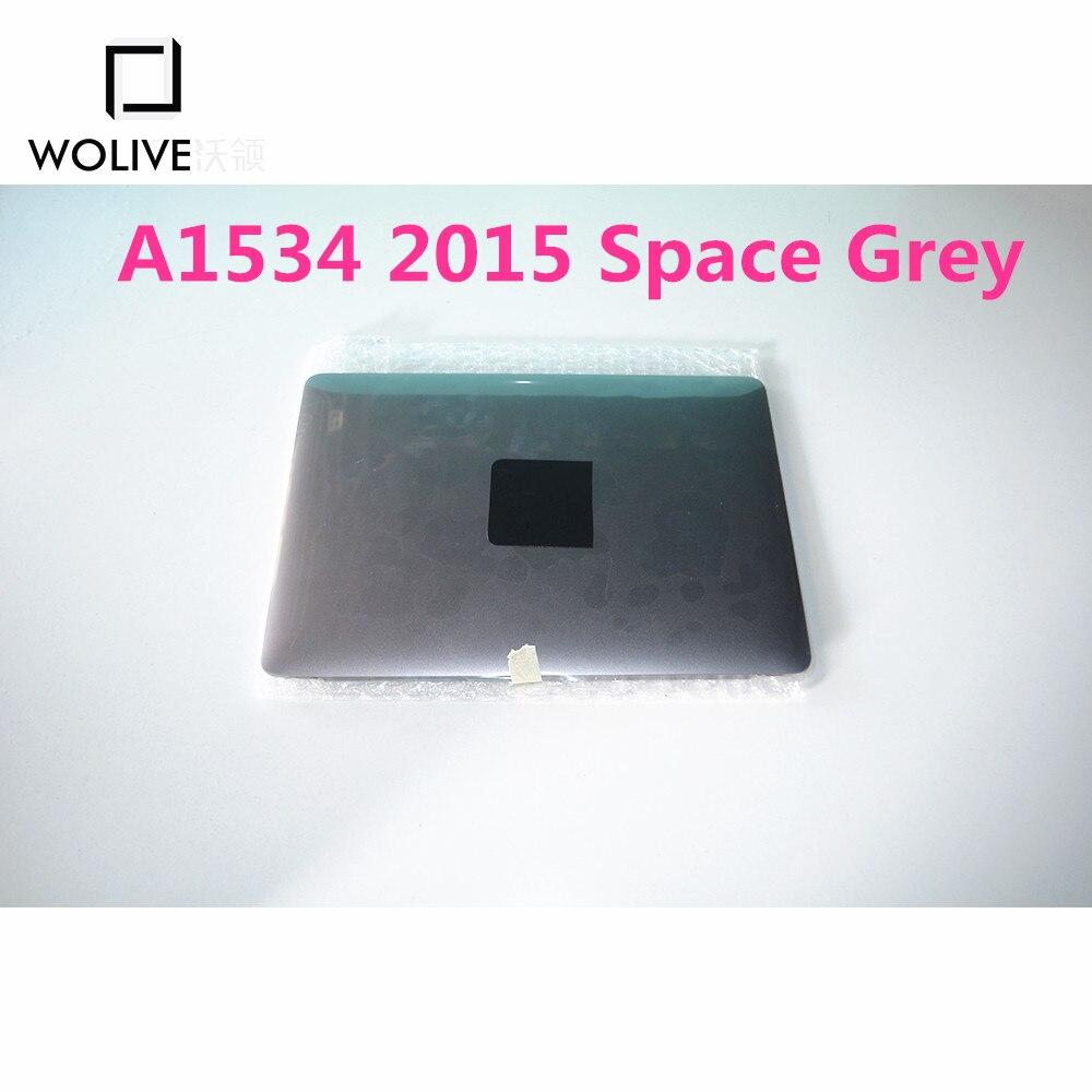 100% nouvel ensemble d'écran LCD d'origine pour Macbook pro Retina 12 ''A1534 2015 argent, espace gris, or, or Rose