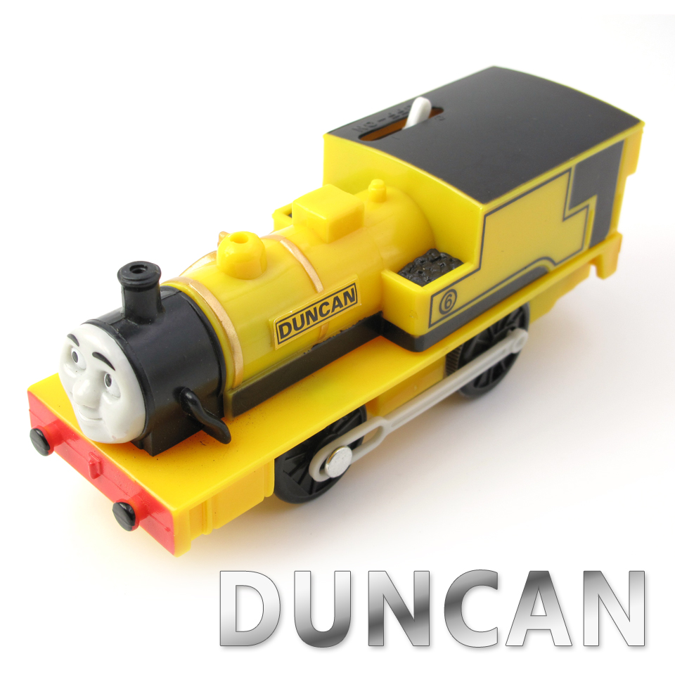Electric Thomas Train T046E DUNCA Thomas And Friends Trackmaster Magnetic Tomas Truck Locomotive Engine Railway Toys for Boys
