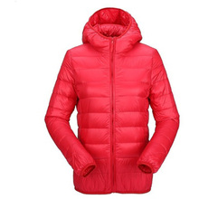 Winter Warm New Hot Women's Clothing Hooded Cotton Jackets Female Outweaer Coats  Hot Sell Solid Color Clothing