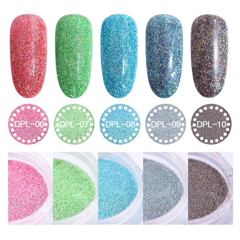 10ml Dip Nail Glitter Colorful Pigment Powder 3 2 3cm Bottle Design for Nails Rub Manicure Dipping Powder Nail Glitter NHD in Nail Glitter from Beauty Health