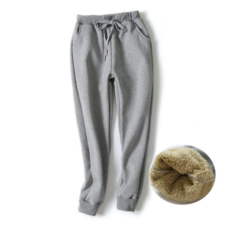 47a4f130efb Detail Feedback Questions about Casual Fit Women Plus Wool Velvet Pants  Unisex Streetwear Autumn Winter Warm Trousers Sweatpants Leggings Joggers  Womens ...