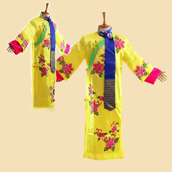2 Colors Qing Er GeGe Qing Dynasty Princess Applique Embroidery Costume Ancient Chinese Princess Exhibition Girls' Costume маска от ветра и пыли qing long lin 08