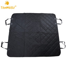 Pet Dog Safety Mats Waterproof Vehicle SUV Car Back Bench Seat Cover Hammock Mat For Puppy Kitten Car Travel Goods for Dog Cat