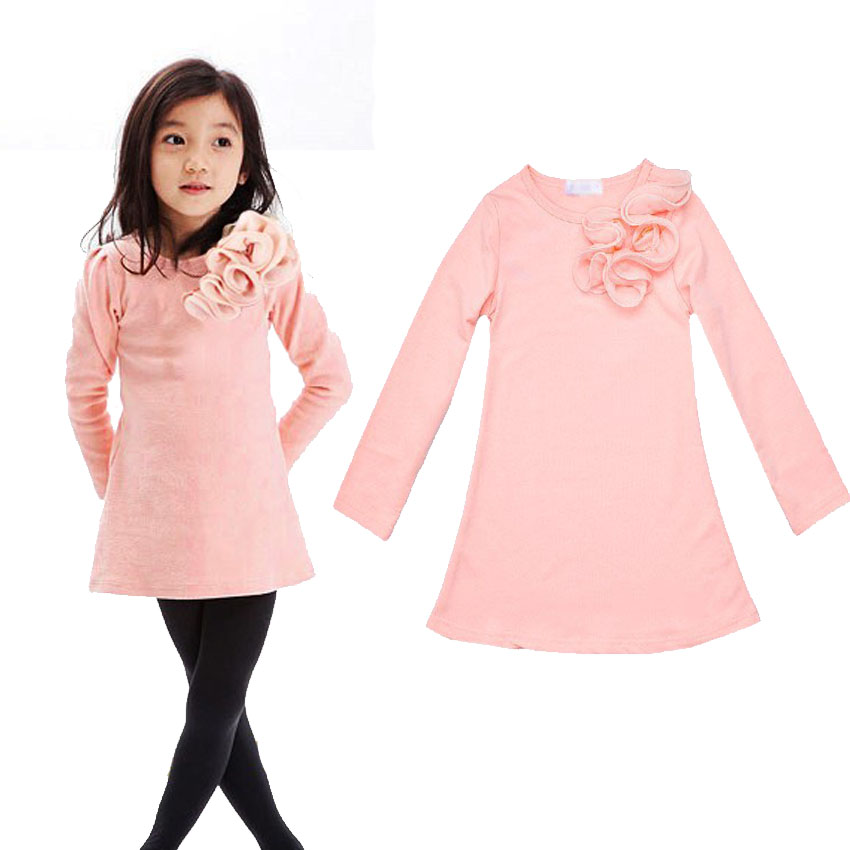 Dresses For Girls Good Quality Cotton Baby Clothes For