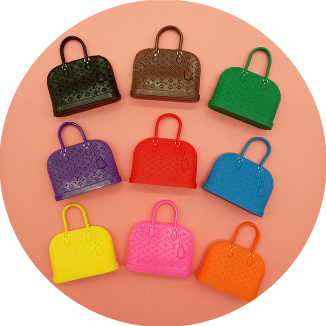 1pcs Colorful Mini Brand Doll Bags Clothes Accessories For Blyth