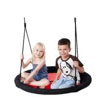 Nuovo Panno di Oxford Altalena Per Bambini Allaperto di Intrattenimento Giocattolo Altalena Da Giardino Patio Altalena