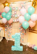 Yeele Balloons 1st Birthday Baby Photo Photography Backgrounds Customized Party Decor Photographic Backdrops For Studio