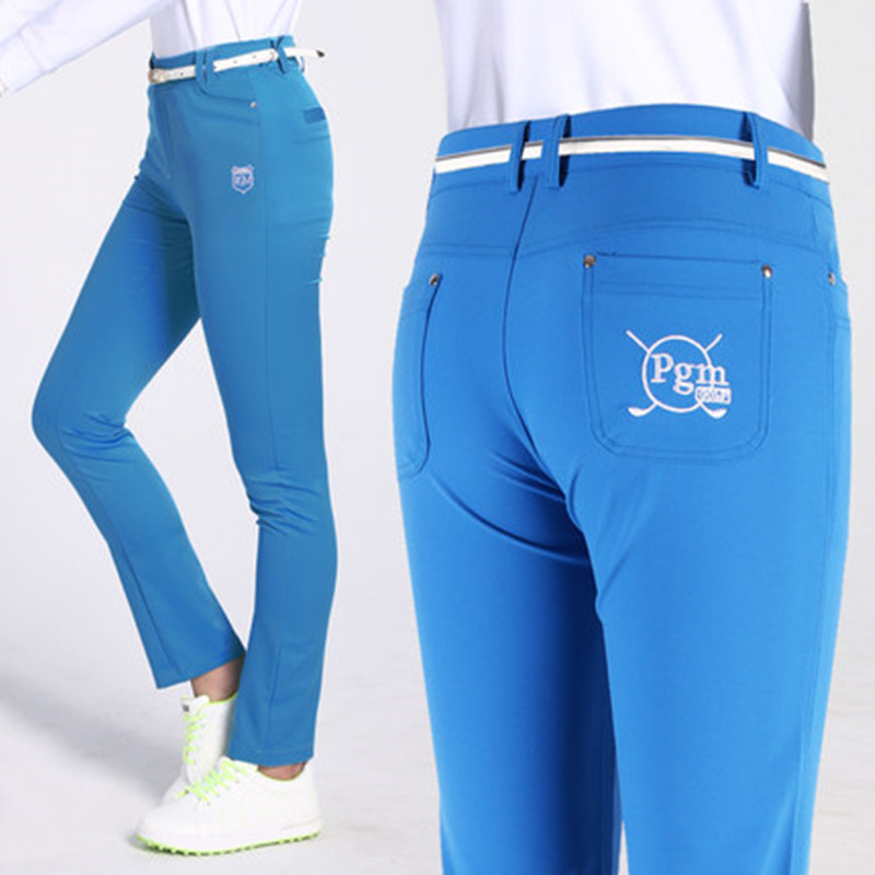 PGM Golf pants ladies trousers high elastic shenzhen quick-drying golf pants high elastic self-cultivation high elastic pants hanlu spring hot fashion ladies denim pants plus size ultra elastic women high waist jeans skinny jeans pencil pants trousers