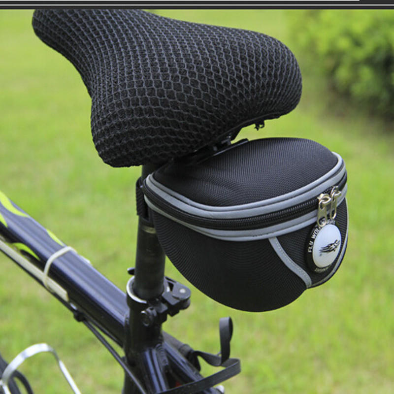 Q165 Free shipping 2016 New font b Bicycle b font Rear Tail Seatpost font b Bags