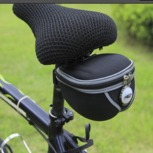 Q165 Free shipping 2016 New Bicycle Rear Tail  Seatpost Bags Cycling Bike Frame Bags Saddle Seat Tail Packs Pouch Pockets para