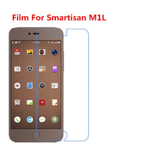 1/2/5/10 Pcs Ultra Thin Clear HD LCD Screen Guard Protector Film With Cleaning Cloth Film For Smartisan M1L.(China)