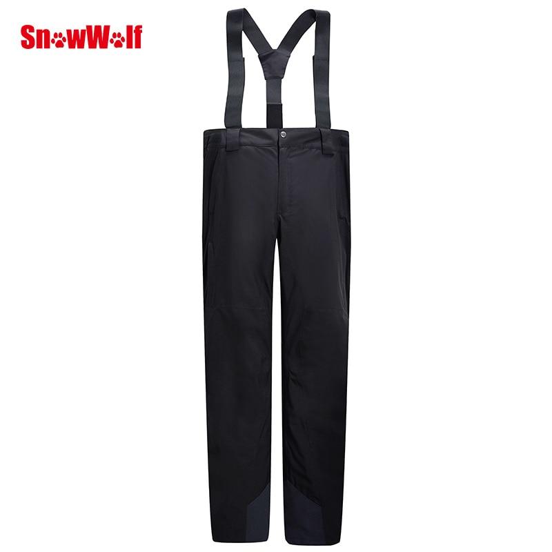 SNOWWOLF 2019 Hommes D'hiver En Plein Air Ski Pantalon USB Infrarouge Chauffée Sports D'hiver Pantalon Électrique Thermique Snowboard Pantalons Imperméables - 5
