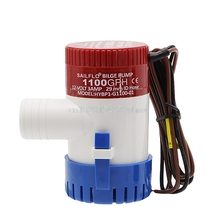 1100GPH Bilge Pump 12V 3AMP 12N Marine Water Pump Submersible Yacht Boat New #L057# new hot