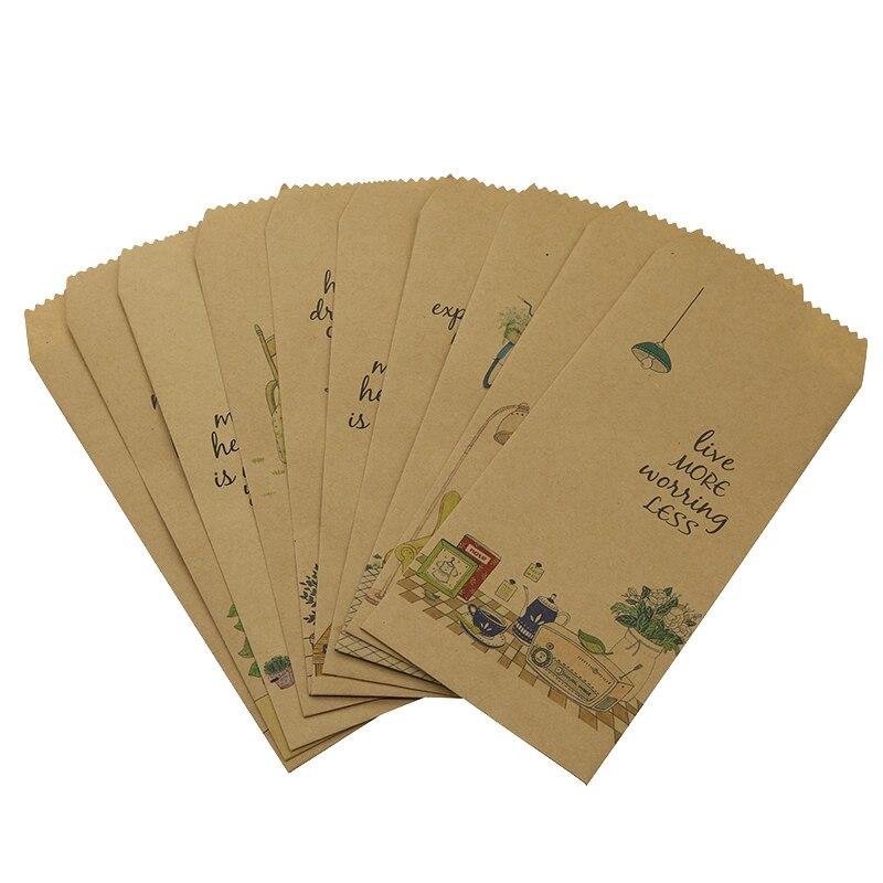 10 / Very Cute Cartoon Office Vintage Paper Envelope Small Gift Children Handmade Envelope Wedding Letter Invitation