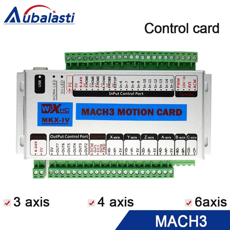 Mach 3 контрольная карта с ЧПУ оси 4 оси 6 XHC MK3 ЧПУ Mach3 USB порт поддержка окна 7 10 systerm