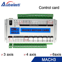 Mach 3 cnc control card 3 axis 4 axis 6 axis XHC MK3 CNC Mach3 USB port support window 7 10 systerm