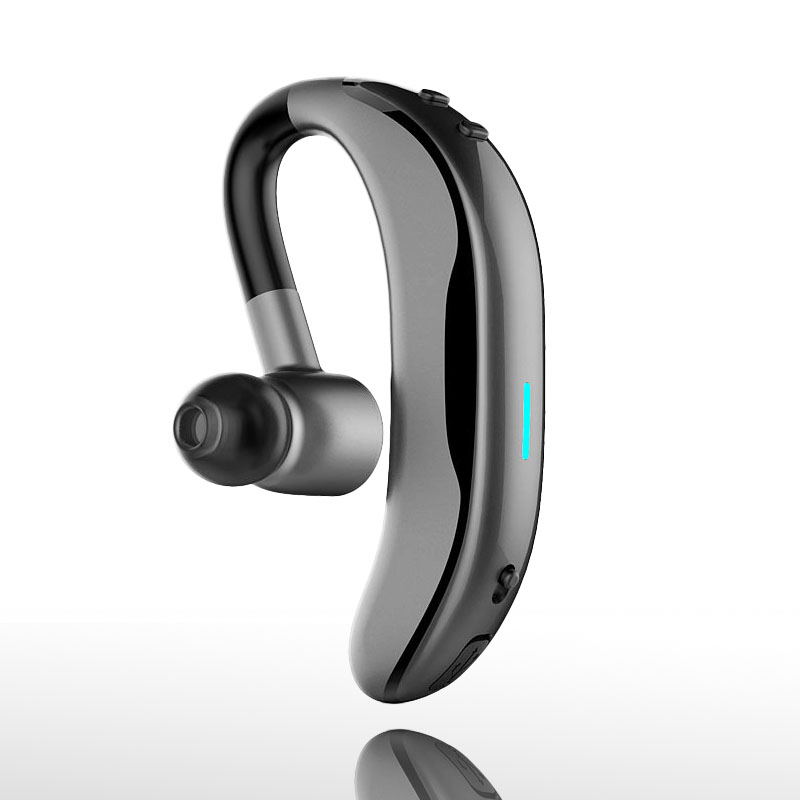 Business Bluetooth Headset Wireless Earphone Hook Design with Mic for iPhone Xiaomi Bluetooth V4.1 Phone Handsfree