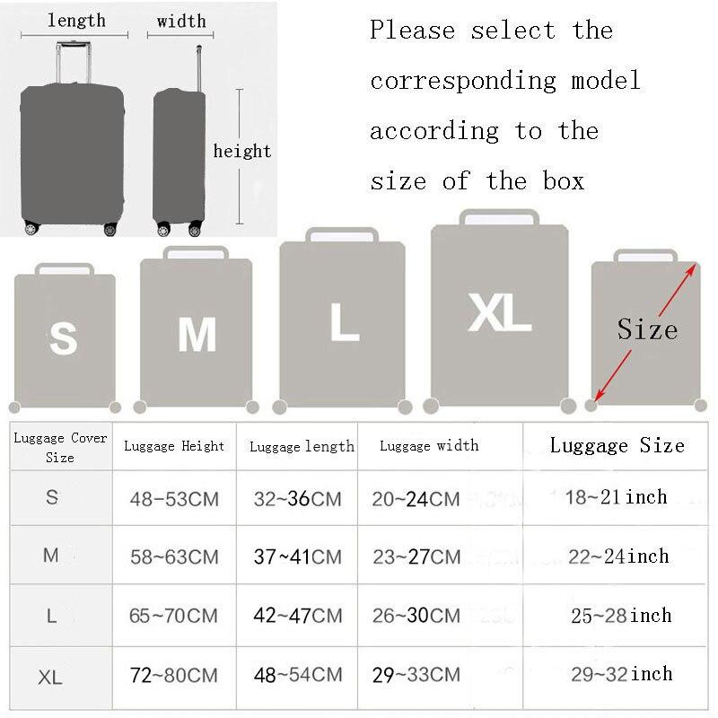 Thickening elastic cloth suitcase 2