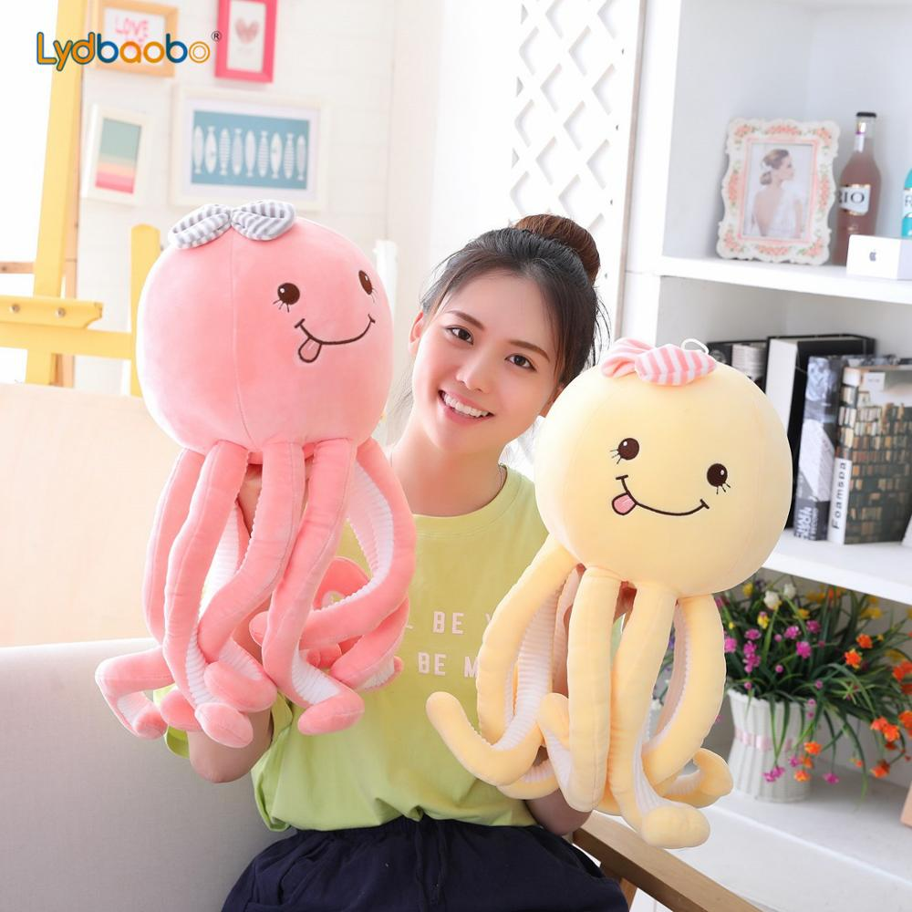 50/70cm Giant Cute Octopus Plush Toys Octopus Whale Dolls & Stuffed Toys Plush Sea Animal Toys Children Baby Gifts Home Decorate | Stuffed & Plush Animals