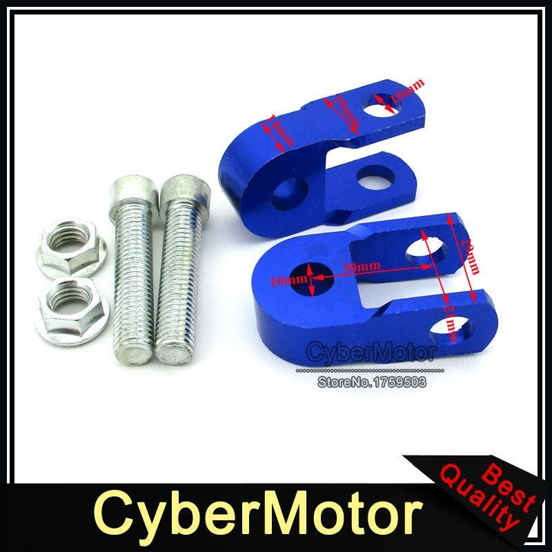 Blue Shock Absorber Height Extension Extender Riser Taper For ATV Motorcycle Motor Pit Dirt Bike XR50 CRF50 TTR 50 KLX110 DRZ110