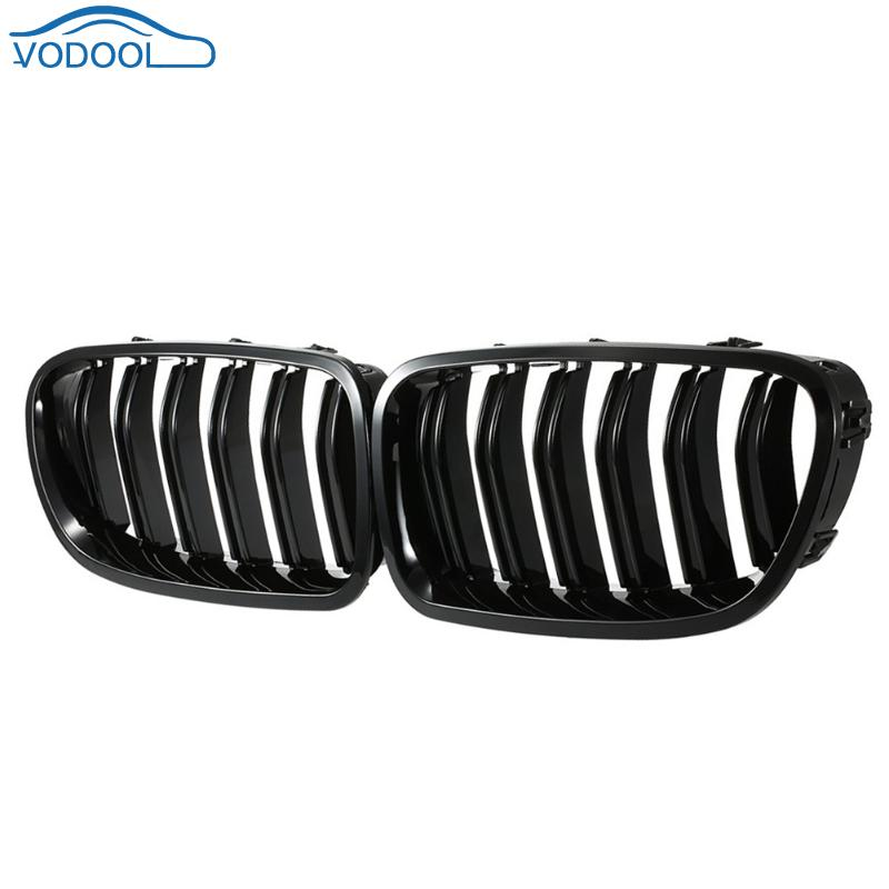 Car Style 1 Pair Front Kidney Grille for BMW F10 F18 5 Series 10-14 Car Racing Grille Vehicle Decorative Accessory стоимость