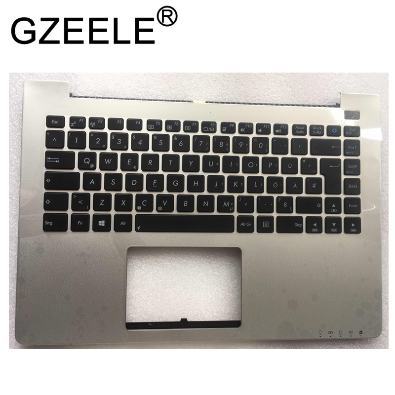 GZEELE New palmrst FOR ASUS S400 S400C S400CA notebook C cover with keyboard bezel upper case