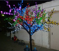 2M 6 6ft LED Cherry Blossom Tree Light Outdoor Christmas Wedding Holiday Light Decor 1152 LEDs
