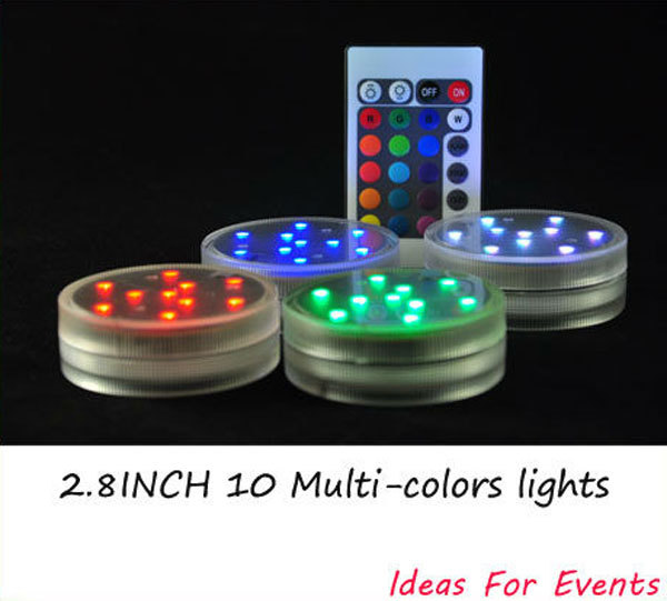 (12pieces/lot) Waterproof LED Mini Party Lights for Lanterns,Hookah, Floral Led Light For Wedding Centerpiece Shisha Glass Vases