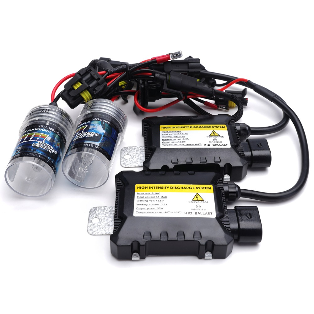 2x NEW Xenon H1 HID Bulbs AC 35W 9-16V Replacement Bulb 3K 4K 6K 8K 10K 12K