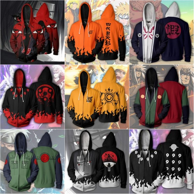 Trendy Naruto Hoodies