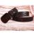 Hongmioo placa de hebilla de cinturón de cuero genuino del zurriago hebilla cinturones para hombres regalos de navidad de madera cinturón de un tamaño de 110 cm