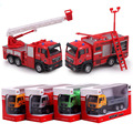 1:55 Alloy Model Car  Glide Truck Kids Toys For Children Educational Gift for Your Baby Vehicles Truck Decoration 135