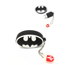 Cartoon superhero odznaka 32 GB 16G 8G Batman flash Superman odznaka usb pamięć flash jazdy pendrive jazdy pamięć usb pendrive(China)