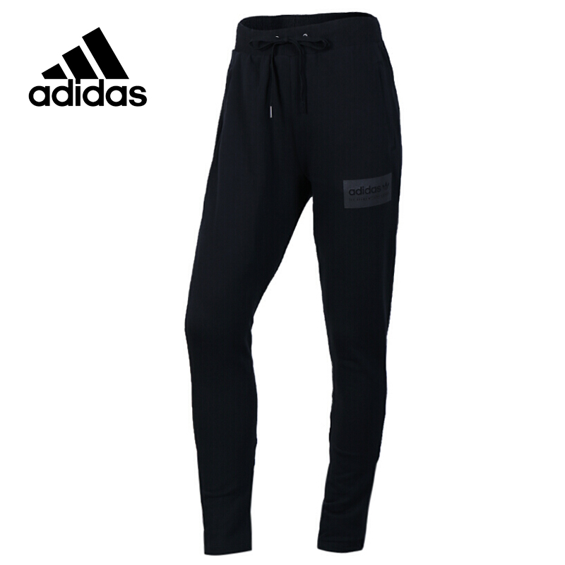 Original New Arrival Official Adidas NEO Women's knitted Pants Breathable Sportswear original new arrival official adidas neo women s knitted pants breathable elatstic waist sportswear